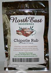 Organic Chipotle Rub