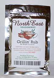 Grillin' Rub, No Salt