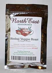 Herbal Veggie Roast, No Salt