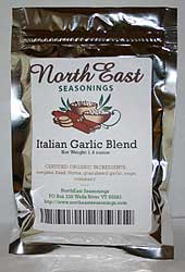 Organic Italian Garlic Blend