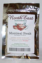 Montreal Steak, No Salt