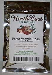 Organic Pesto Veggie Roast